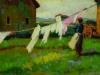 Carlo Domenici, Panni al vento